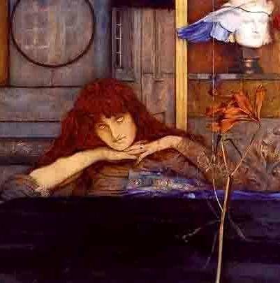 peinture belge : Fernand Khnopff, symbolisme: