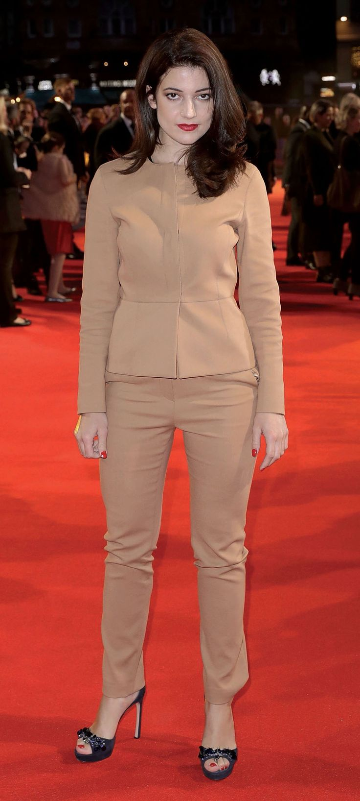 """Esther Garrel attends the Mayor Of London Gala & UK Premiere of """"Call Me By Your Name"""" during the 61st BFI London Film Festival - Photo by John Phillips / Getty Images for BFI / Image.net / Atlantic Images"""