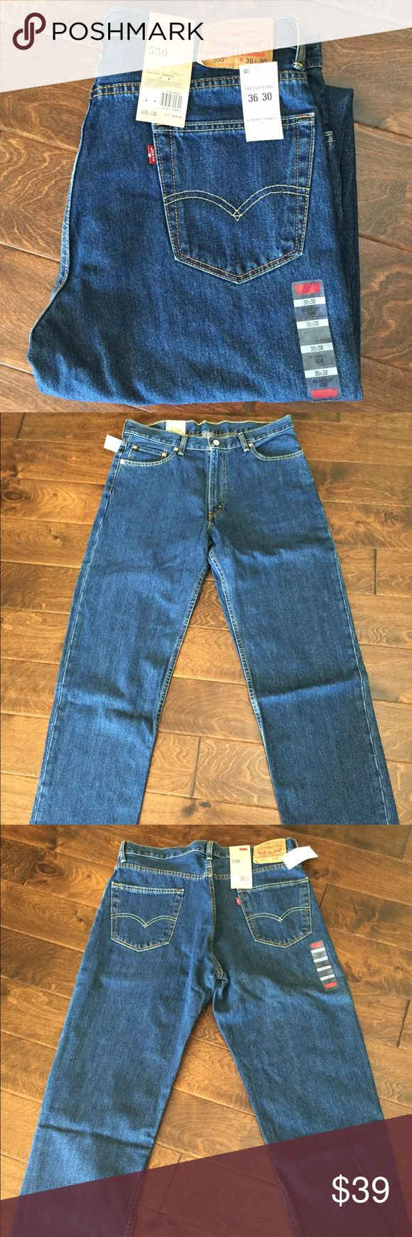 🇺🇸 NWT Men's Levi 550 Jeans Loose Fit 🇺🇸 🇺🇸 New with tags men's Levi's 550s. Size Loose fit. 36x30. Levi's Pants