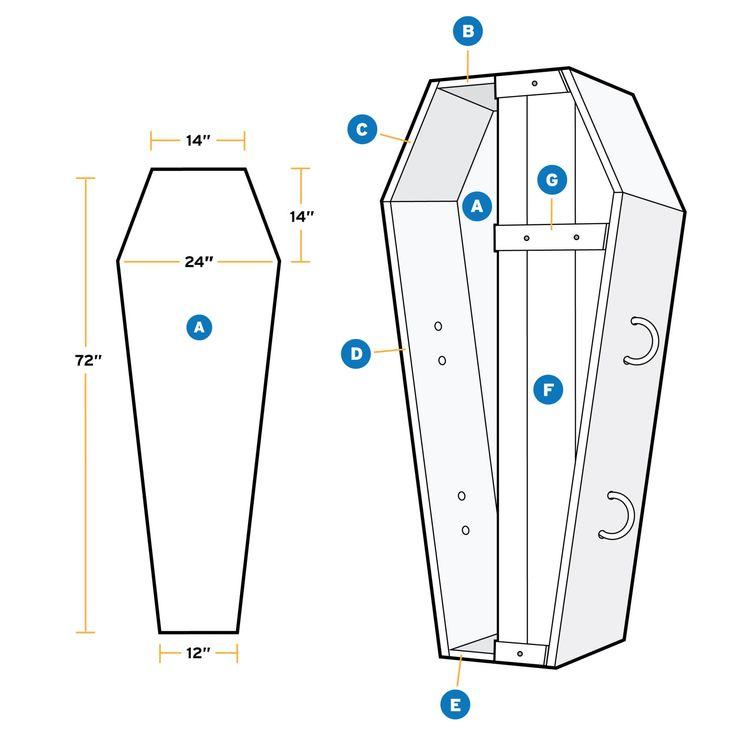 How To Build a Halloween Coffin  - PopularMechanics.com