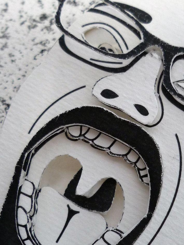Breaking Bad paper sculpture! Book Art, The Basic Design Class.
