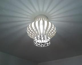 Lámparas de PVC Tutorial