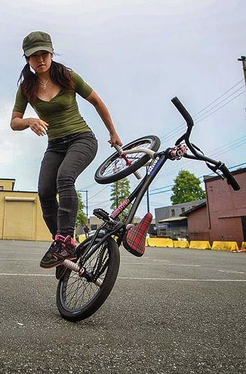 bmx and girl wallpaper - photo #29