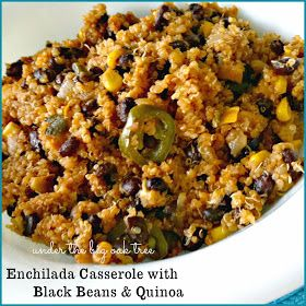 Enchilada casserole, Enchiladas and Black beans on Pinterest