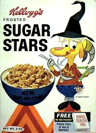 Sugar Stars cereal  c. 1963