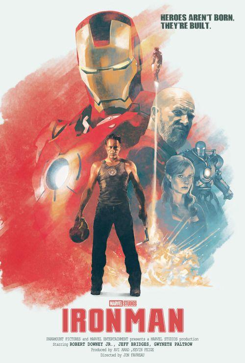 Iron Man Poster - Hans Woody