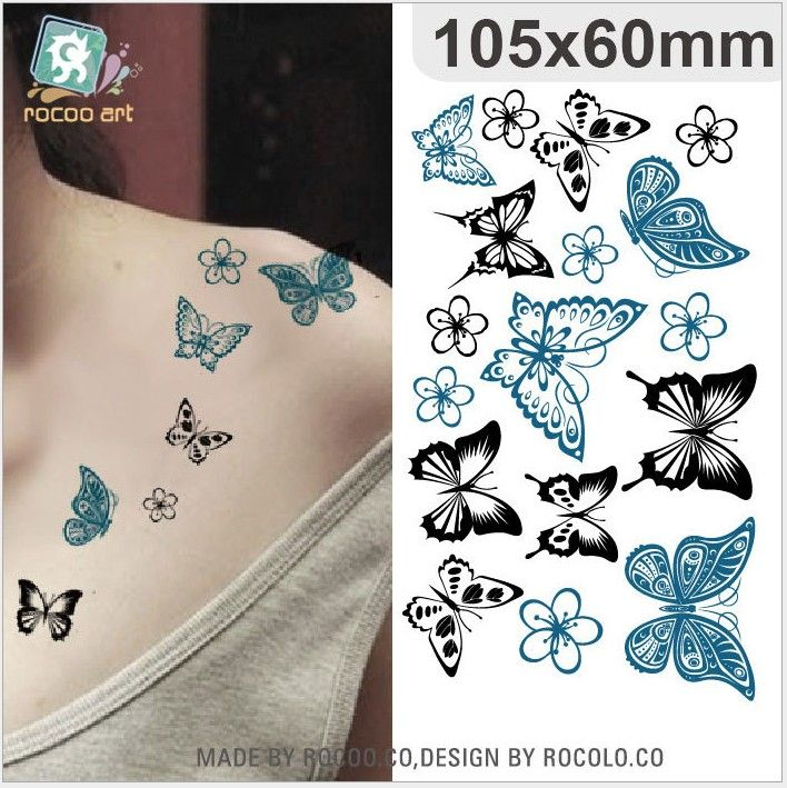 Foreign trade waterproof stickers stickers for women iris fresh tattoo stickers small toys