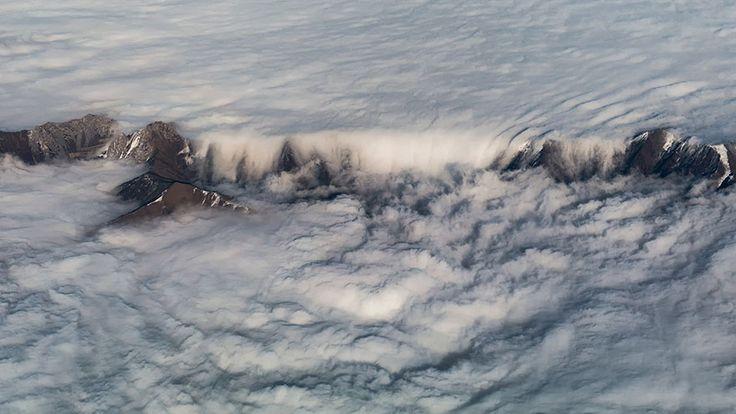 Il mondo visto da sopra le nubi (da wonews.it)
