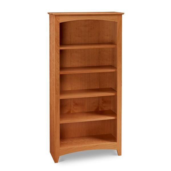Cherry Shaker Bookcase Is A Graceful Addition To Any Space. Made In Maine.  Multiple