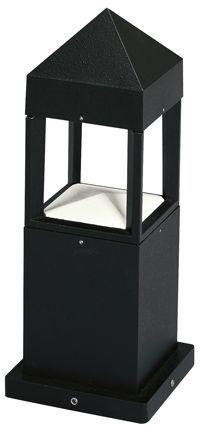 [Artikel-Nr:0523] [Artikeltyp:Sockelleuchte] [Glas:Borosilikatglas klar][Material:Aluminiumguss][Schutzklasse:SK I][Schutzart:IP 44][Befestigung:zur Montage auf Fundament oder dem Erdeinbausockel 690010][Farbe:weiß;schwarz]