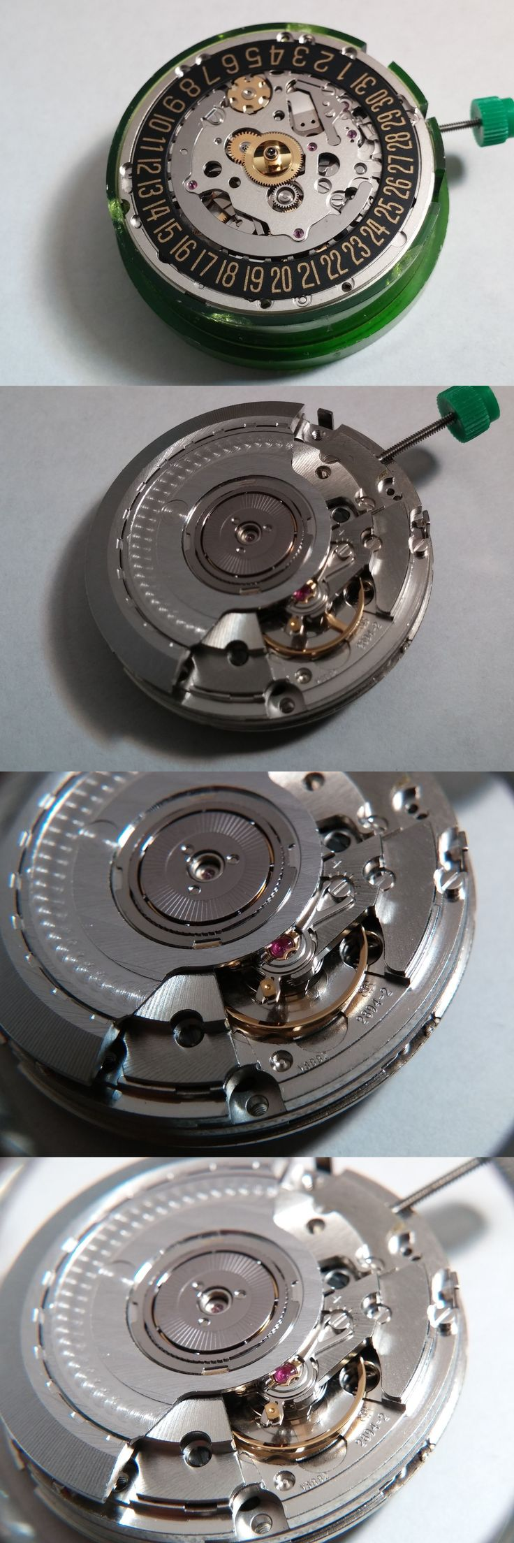 Other Watch Parts 10324: Eta 2894-2 Movement, Swiss Made, Date At 3 O Clock. 37 Jewels, Black White Date -> BUY IT NOW ONLY: $550 on eBay!