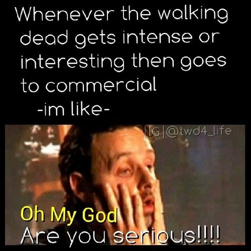 That's why I only watch online or DVD lol commercial free is so much better