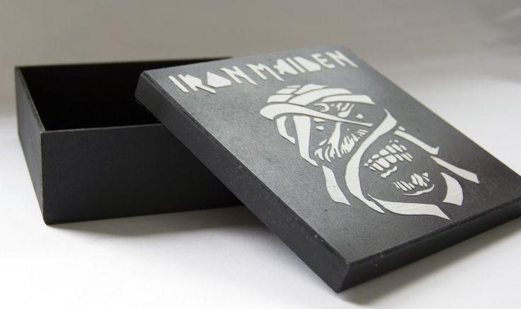 Caixa MDF - Iron Maiden - Pietro Artesanatos