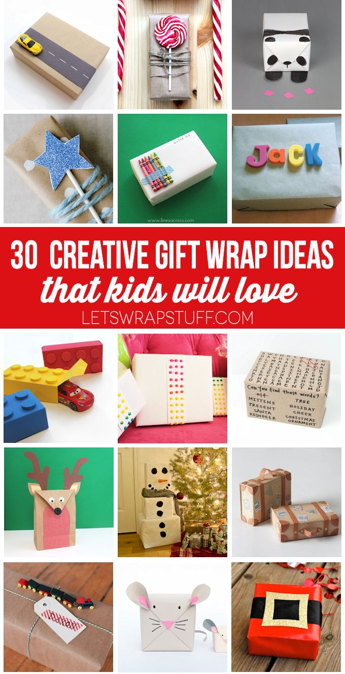 Creative-Gift-Wrap-Ideas-for-Kids.png 680×1327 pixels