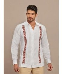Formal Guayabera embroidered