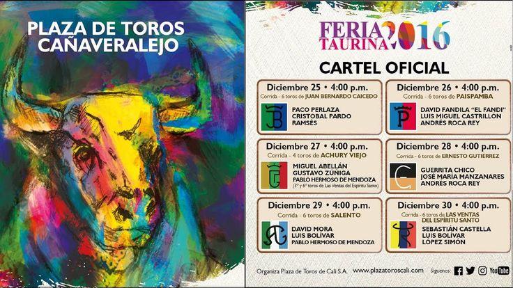 FERIA TAURINA 2016, ASI SE VIVE LA CORRIDA DE TOROS EN CALI, CORRIDA DE ...
