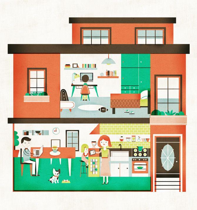 Line Art Dollhouse : Dollhouse macworld magazine sollinero