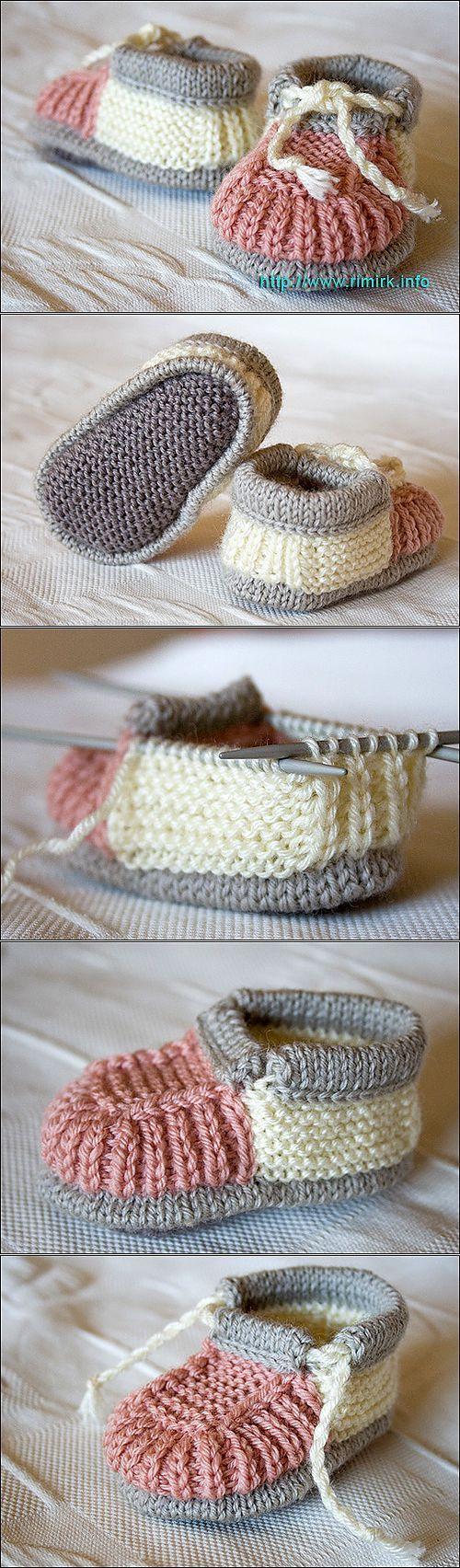 пинетки. | вязание | Постила ♥♥