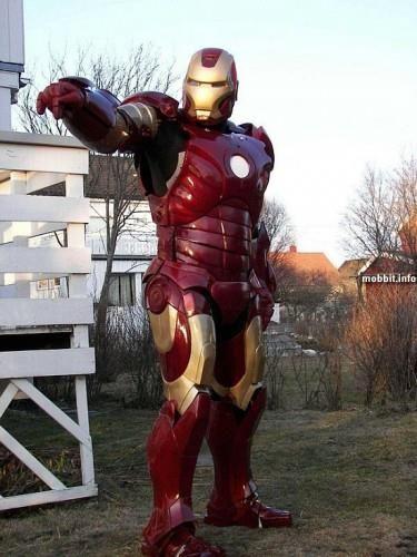 Сделать костюм железного человека своими руками