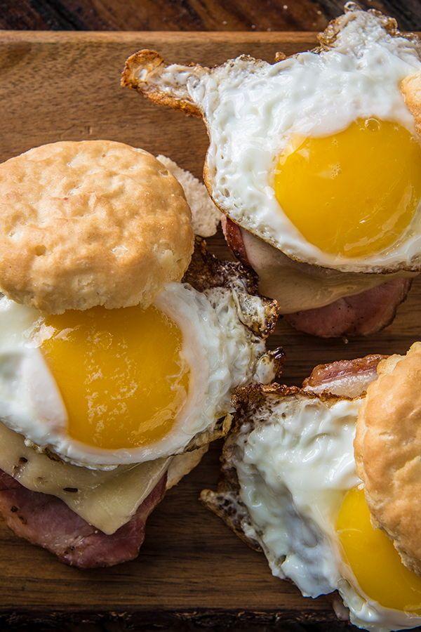 Get Breakfast Biscuits Sandwich