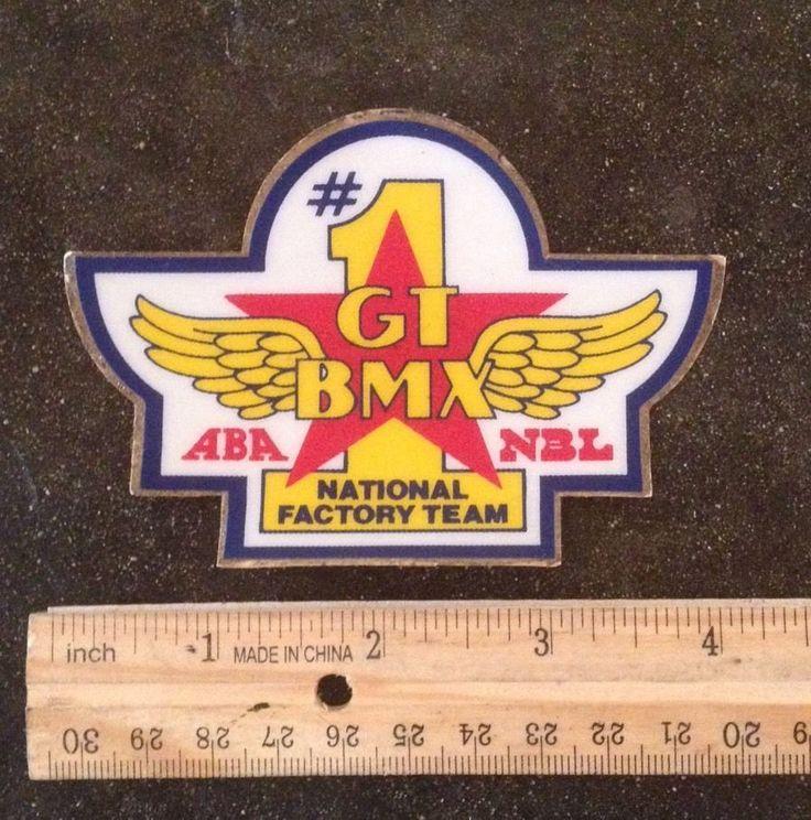 1980 90's GT BMX Early Vintage Patch Oldschool RARE | eBay