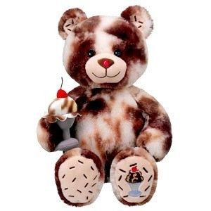 Hot Fudge Sundae Ice Cream Cone BR Baskin Robbins Collection Build a Bear Stuffed Teddy Bears Toy Animal Brand New with Tag Retired and Ultra Rare A Beary Sweet Gift Idea Available Now at http://www.bonanza.com/listings/Build-A-Bear-Hot-Fudge-Sundae-Ice-Cream-Baskin-Robbins-New/36709237