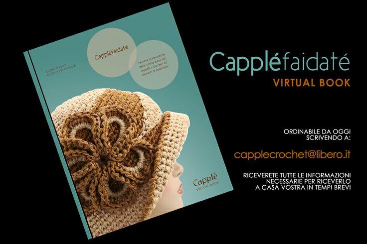 Manuale CAPPLE'FAIDATE' cappelli estivi info: capplecrochet@libero.it