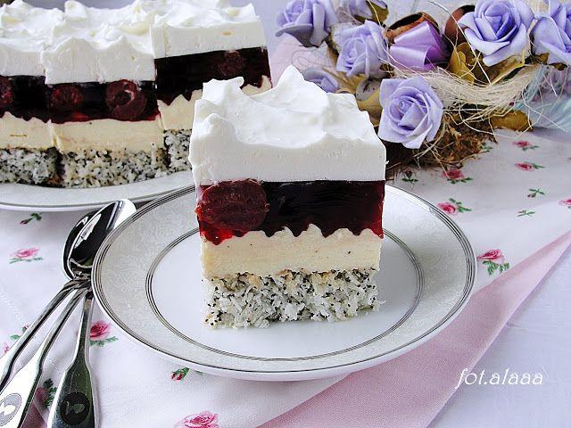 Ala piecze i gotuje: Ciasto wiśniowa poezja