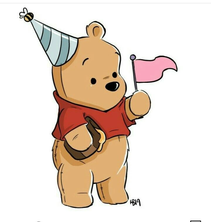Geburtstag Winnie The Pooh Drawing Cute Winnie The Pooh Winnie