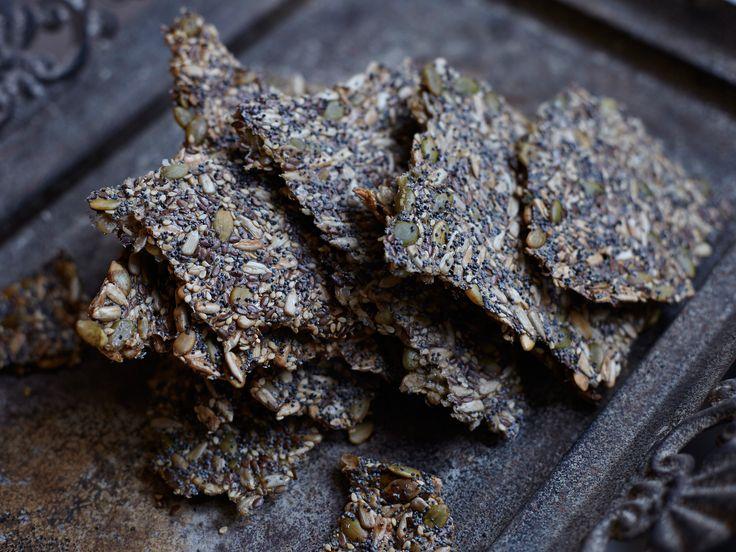 Världens godaste fröknäcke, Leilas recept | Recept från Köket.se