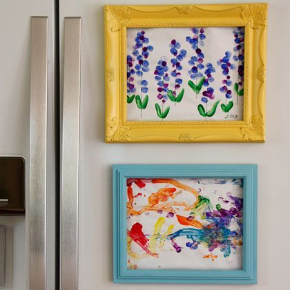 8 Creative Ways To Display Kid Art. Diy IdeasCraft ...