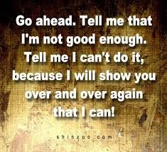 Image result for quote about i am good enough