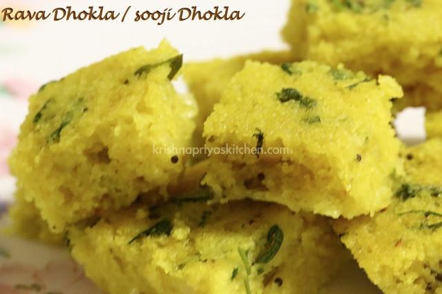 Rava Dhokla / Sooji Dhokla