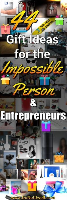 44+ Gift Ideas for the Impossible Men or Women in your Life! Also, Entrepreneurs because they just think differently and want what may seem like crazy gifts. Need to wish a co-worker Happy Birthday or tell him or her thank you? Perhaps you're looking for a cute gift your girlfriend for Christmas or a cool present for your boyfriend for Valentine's Day or an Anniversary. Do you have a best friend that is going to be moving away and need to get them a last minute long distance relationship…
