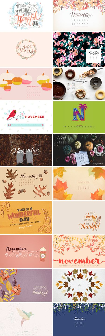 Can you believe it's already November? I hope everyone has an amazing month, Thanksgiving, and of course Black Friday! Enjoy this month's roundup :-) 1. Lily & Val  |  2. Blushed Design  |  3. Pish & Posh Designs 4. May…