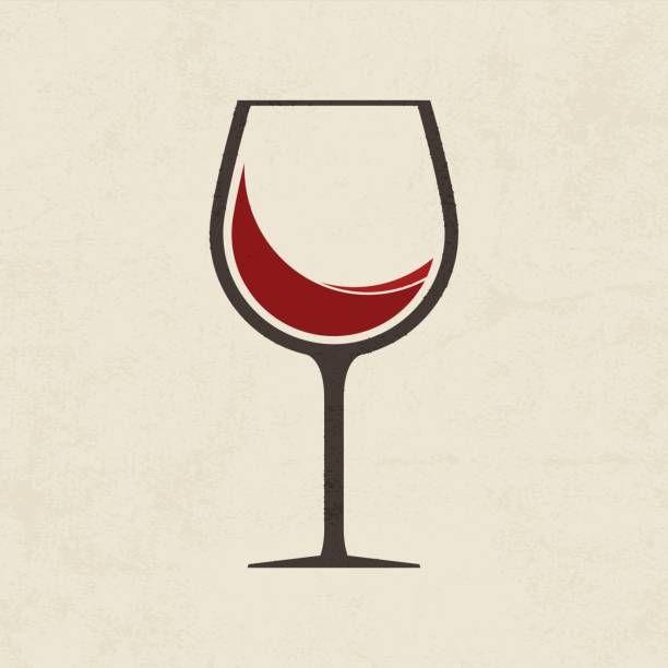 Wine Glass Icon Wine Glass Illustration Wine Glass Tattoo Wine