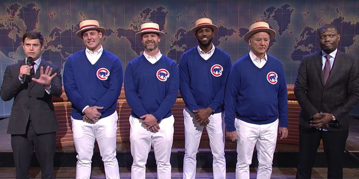 Bill Murray and the Cubs Made a Special World Series Appearance on SNL