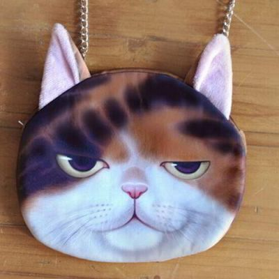 Kitten Cat Pattern Decorated Chian Design Multi Color. Cute and elegance REPIN if you agree.😊 Only 215 IDR