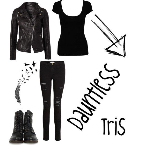 Tris Costume, Divergent Halloween Costume, Divergent Outfit, Divergent ...