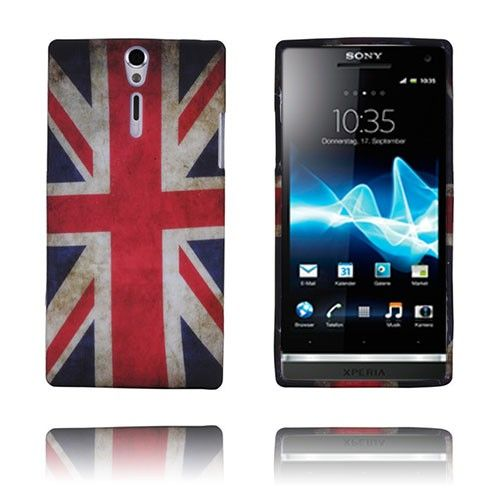 Retro Flag (UK) Sony Xperia S Deksel