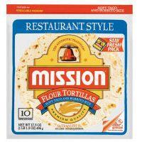 Mission Restaurant Style Soft Taco & Burrito Size Flour Tortillas