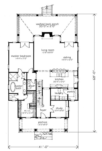 112 best house plans images – One Floor Living House Plans