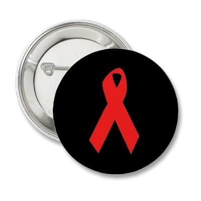 HIV AWARENESS / AIDS RIBBON PINS