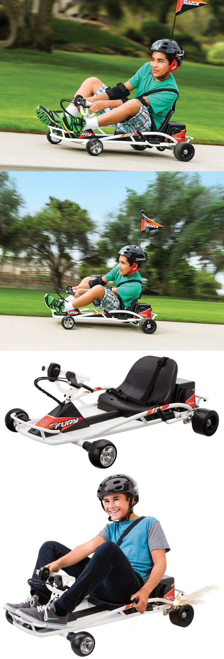 Complete Go-Karts and Frames 64656: Electric Go Kart Razor Dune Buggy Cart Scooter Battery Throttle Ride On Toy New -> BUY IT NOW ONLY: $381.97 on eBay!