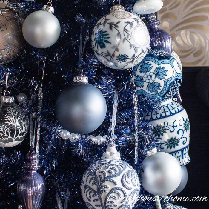 Beautiful Blue Christmas Tree Decorations And 20 Other Christmas Tree Decorating Ideas Blue Christmas Tree Blue Christmas Tree Decorations Christmas Tree Themes