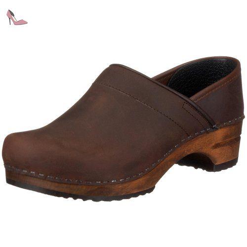 Wood-Yara Flex Sandal 457357-2, Sandales femme - Noir (Noir-TR-B2-264), 40 EUSanita
