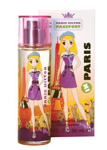 Passport Paris Paris Hilton perfume - a fragrance for women 2010