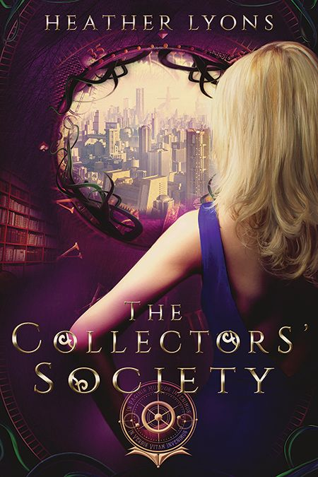 The Collectors' Society by Heather Lyons • October 23, 2014 • Cerulean Books https://www.goodreads.com/book/show/23339472-the-collectors-society