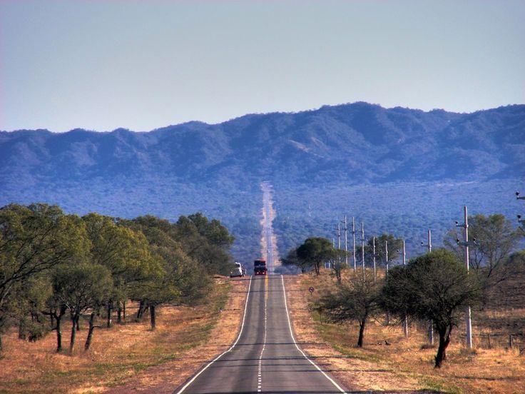 Camino a Rìo Hondo. Santiago del Estero. Argentina