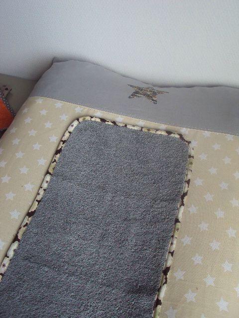 Housse de matelas à langer Little fabrics